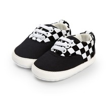 Spring Autumn WinterToddler Bayi Bayi Bayi Kasut Patchwork Kasut Sneaker PU Striped Soft Sole Katil Kasut