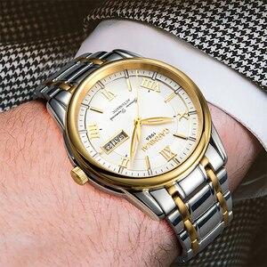 Image 5 - Carnival men watches MIYOTA automatic T25 tritium luminous mechanical watch men TOP brand luxury clocks reloj full steel relogio