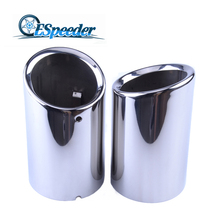 ESPEEDER For VW Volkswagen Golf Beatles Stainless Steel Exhaust Tip Pipe Car Tails Car Styling Muffler