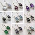 Moonstone prata, Lapis, Pearl & Outros Escolha Gem stone Brincos de Variação