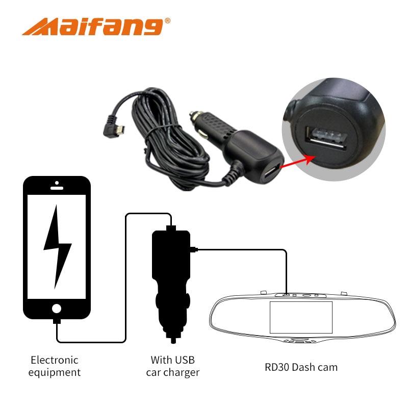 FHD 1080P Avtomobil DVR Kamera 5 düym 170 dərəcəlik Video Səs - Avtomobil elektronikası - Fotoqrafiya 6
