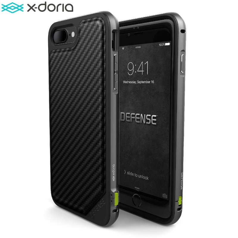 X-Doria Defense Lux Phone Case For iPhone 7 iPhone 7 Plus Case Military Grade Drop Tested  TPU Aluminum  Protective Cover Coque X-Doria Defense Lux Phone Case For iPhone 7 iPhone 7 Plus Case Military Grade Drop Tested  TPU Aluminum  Protective Cover Coque