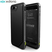 X Doria Defense Lux Phone Case For iPhone 7 iPhone 7 Plus Case Military Grade Drop Tested  TPU Aluminum  Protective Cover Coque