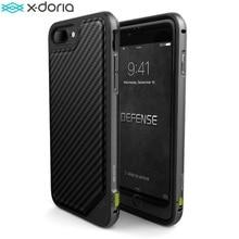 X doria Defence Lux téléphone étui pour iPhone 7 iPhone 7 Plus étui de qualité militaire testé en aluminium