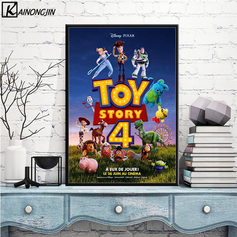 Toy Story 30x20 Inch Canvas Disney Framed Picture Print
