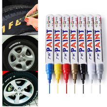10 Styles Car Styling Colorful Waterproof Pen Car Tire Tread