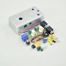 Nwe DIY Handmade Compressor effect pedal  kit full metal  pre-drilled guitar stompbox pedals Kit