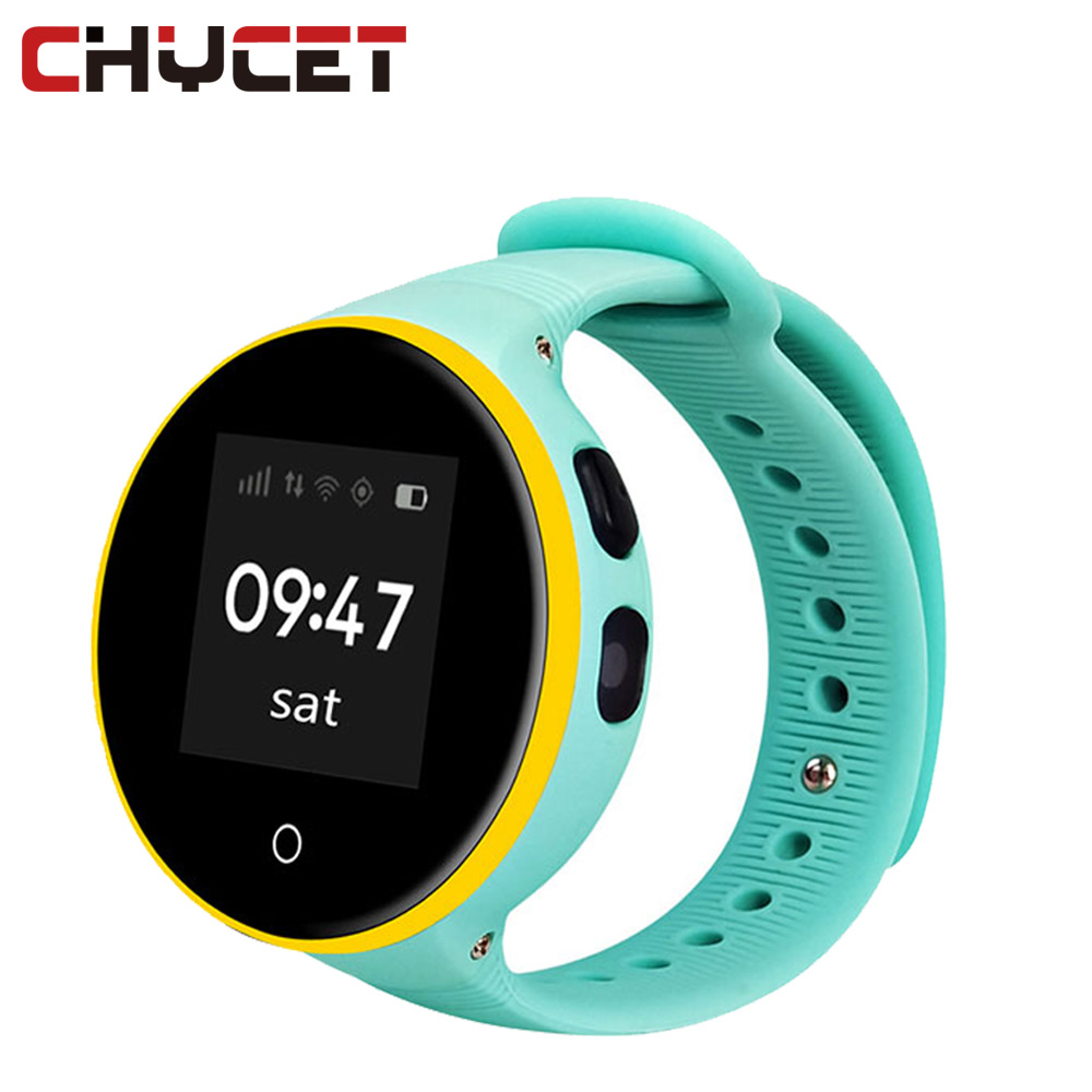 Chycet S668 S669 Waterproof Kid Smart Watch Wristwatch GPS LBS SOS Monitoring child gps watch for iOS Android Smart Phone стоимость