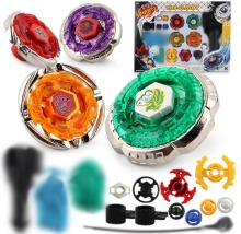 Spinning Tops beyblade metallfusion 4D Launcher Grip Set Fight Master Rare beyblade Barnleksaker Presenter