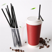 100pcs Disposable Straws Bendable Drinking Tube Extra Long Flexible for Birthday Party Supplies Kitchen&Bar Accessories