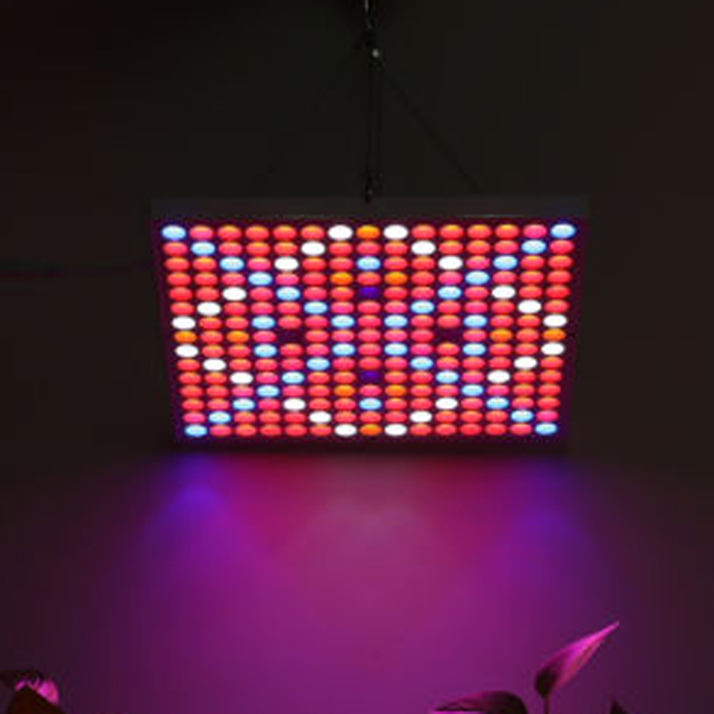 Full Spectrum LED Grow Light UV IR 225 SMD 2835LED 45W Grow Light Blue Red Panel Hydroponic Plant Lamp Indoor Plant led light red blue 135w ufo led grow light plant lamp smd 660nm 460nm grow hydroponic system tent lamp