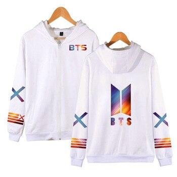 new bts Bangtan Boys bt21 Same paragraph Couple zipper Hoodie Harajuku Hoodie kpop clothes korean sweatshirt Streetwear jung kook bts persona