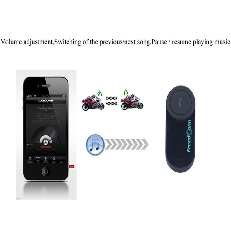 FreedConn T-COM OS Motorrad Intercom Bluetooth Helm Headset FM 2 Fahrer BT Sprech + Weiche Hörer + Moto Intercomunicador