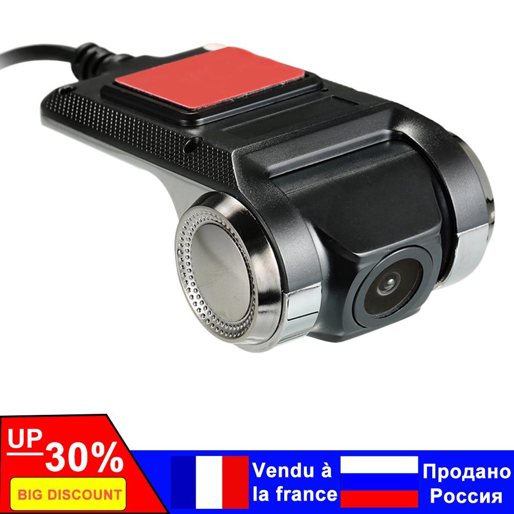 Car DVR Camera Camcorder Registrator-Recorder Dash-Cam G-Sensor Video Wifi ADAS Wide-Angle
