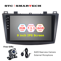 2 Din Android 7 1 2 OS Car DVD Player Autoradio GPS Navigation For Mazda 3