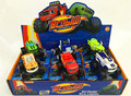 Newest 6pcs/lot Vehicle Car Monster Machines Transformation Kids Car Toys For Children's Boys Gifts