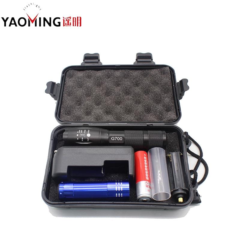 Super svijetle E17 XM-L T6 3800LM vodootporna Zoom CREE LED - Prijenosna rasvjeta