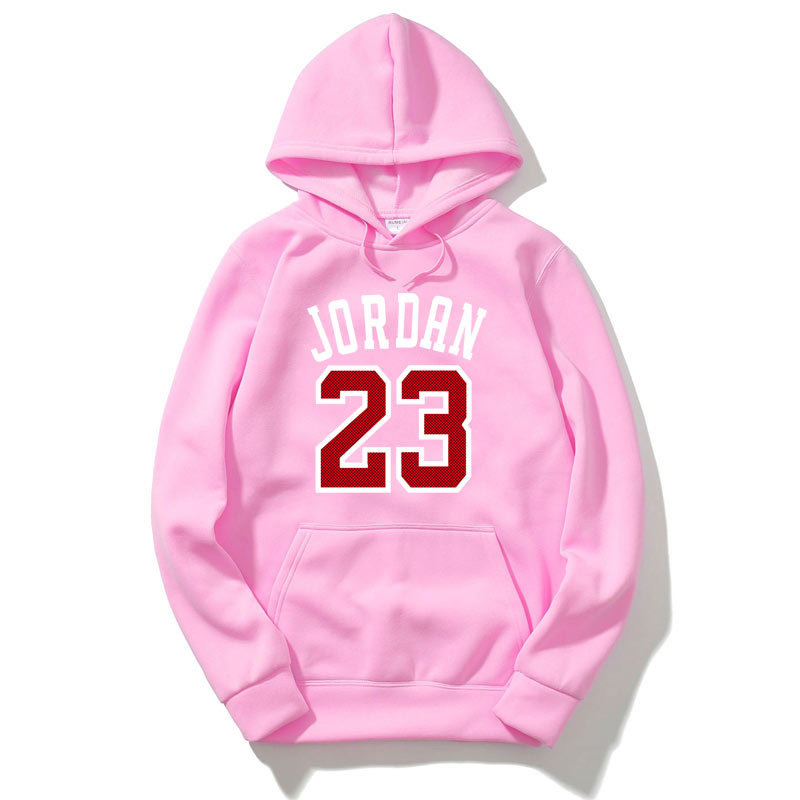 750bdb3ae89a96 Aliexpress.com   Buy Fleece Jordan Hoodies Men 23 Printed Mens Hooded  Sweatshirts Sportswear Black Pink Streetwear Hip Hop Pullover Hoody  Tracksuit from ...