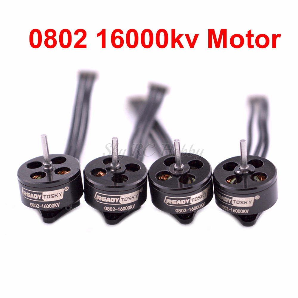 0802 1-2S 16000KV Mini Brushless Motor For Mobula7 Snapper7 Bwhoop75 75mm RC Drone Multicopter Part Accessories