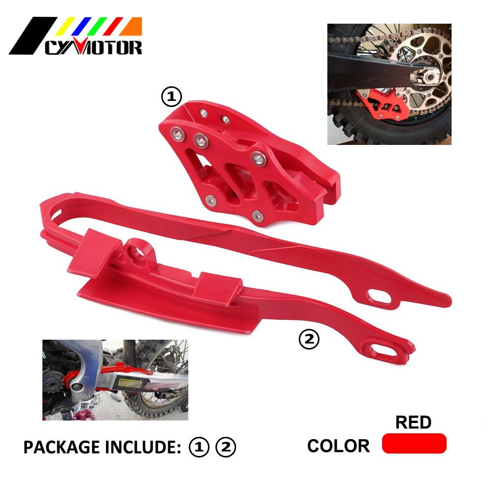 JFG RACING Chain Guide Slider Guard Protector Honda CR125R CR250R CRF450X 05-07,CRF250R CRF450R 05-06,CRF250X 06 Off-Road