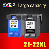 HP21 22 XL 2 Pcs Compatible Ink Cartridges For HP Deskjet 3915 3920 D1530 D1320