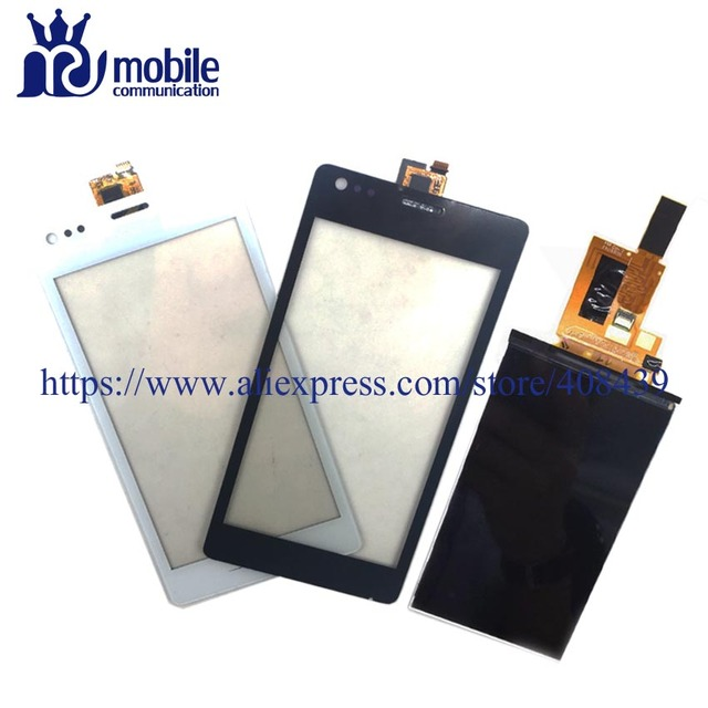 New C1905 LCD Touch Screen for Sony Xperia M C1904 C1905 Display Touch Panel Digitizer Sensor Glass Lens