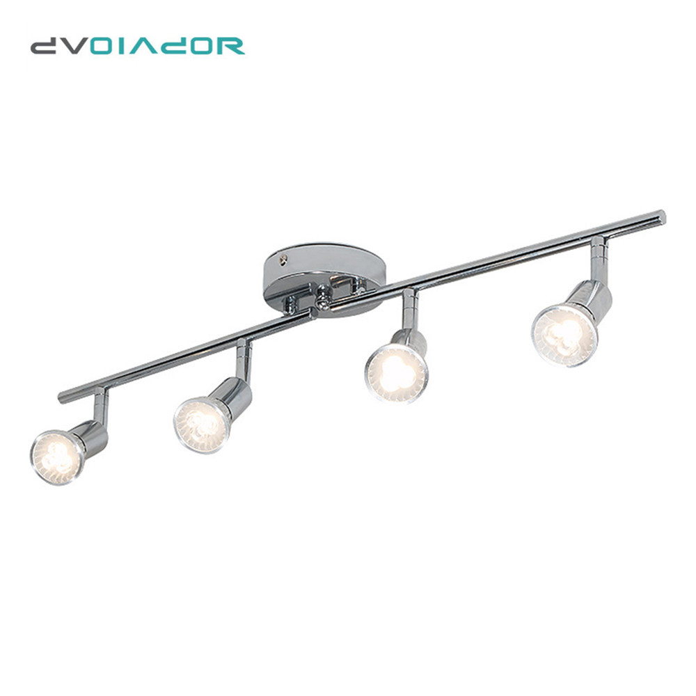 Rotatable LED ceiling Lights Modern Lamp angle adjustable ceiling lamp with GU10 LED bulb for Living Room bedroom Light ceiling