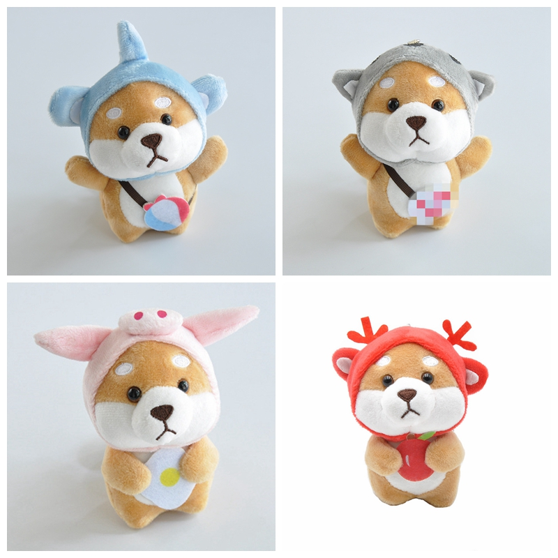 Kawaii Animals Plush Stuffed Doll Cartoon Keychains Toys For Kids Stuffed Plush Baby Cute Funny Toys For Children Birthday Gifts