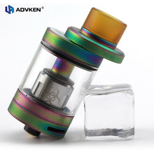 Advken Authentic Multi-Color Vape Tank Atomizer Dominator Tank with 4ml Capacity/0.16ohm Coil Head/Mid-sliding Open Design