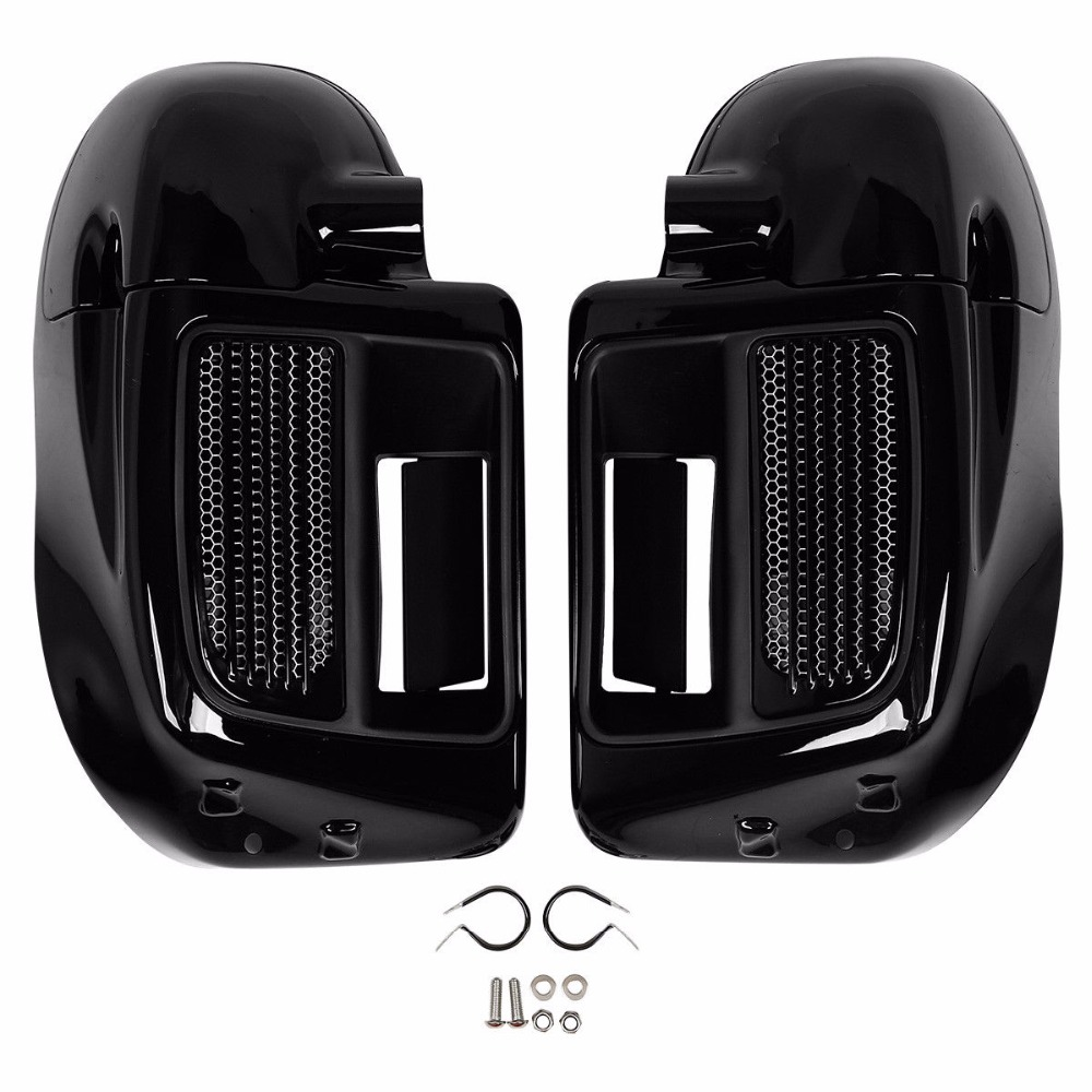 Image 2 - Motorcycle Lower Vented Leg Fairing For Harley Touring Water Cooled Models Road King Electra Glide Street Glide 2014 2020 18-in Covers & Ornamental Mouldings from Automobiles & Motorcycles
