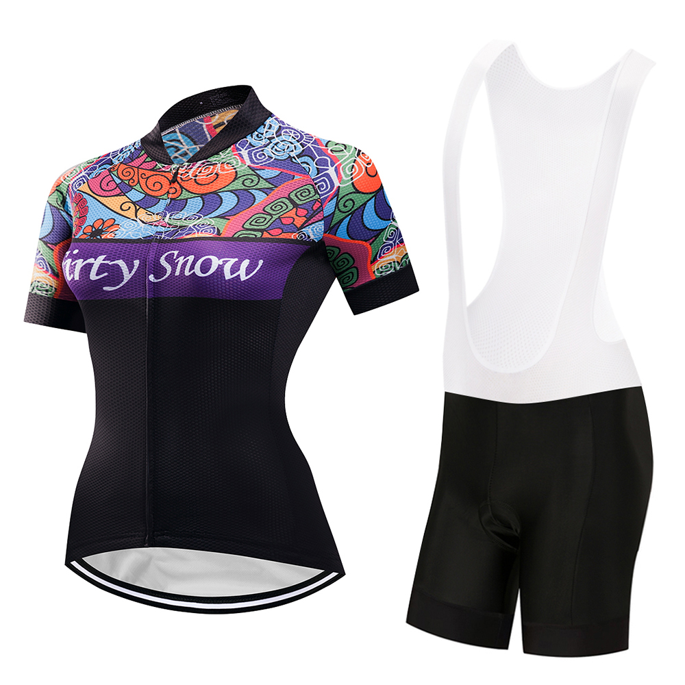 2018 New Arrival Women Cycling jerseys Set Bike Clothing/Bicycle Jerseys Suits/Cycling Sportsware/Ropa Ciclismo Cycle Clothes
