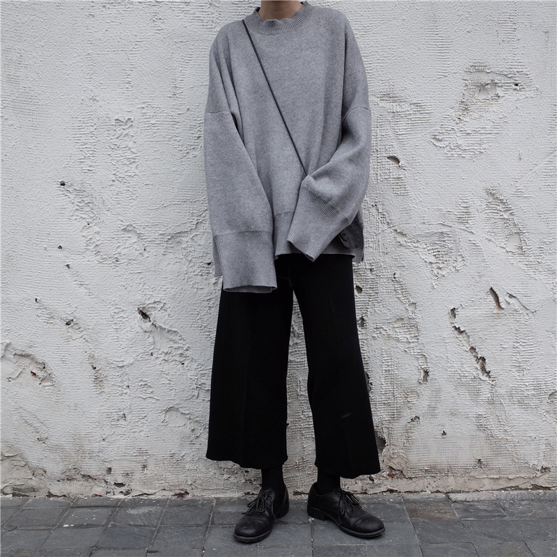 [EAM] 19 New Spring O Collar Full Sleeve Loose Casual Asymmetrical Large Size Kintter Puffover Women Fashion Tide OB275 7