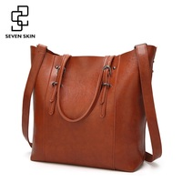 SEVEN SKIN Brand Women S Shoulder Bags Solid Leather Bag Female Luxury Handbags Women Bags Designer