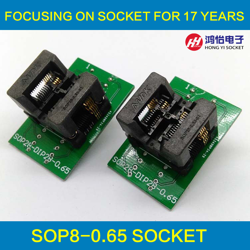 SSOP8 TSSOP8 Pin Pitch 0.65mm Programming Socket Chip IC Test Socket OTS-28-0.65-01 Programmer Adapter 12vgli ahs gsb gsr psr 12 12ve bateria battery gsr 1 5ah bat043 bat045 bat 046 bat049 bat120 bat 139 26073 35555 t35