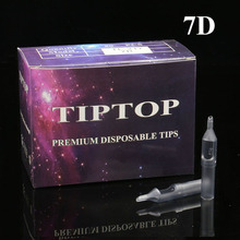Tattoo-Tips Sterile Disposable Plastic for 7DT 100pcs Assorted Grey Classical