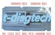 free ship ,whole sale,500662-B21 501536-001 500205-071 8GB(1x8GB) DDR3 PC3-10600R Server Memory Kit with retail box