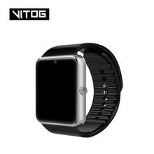 Gt08 블루투스 스마트 시계 전화 남자 여자 지원 안 드 로이드 아이폰에 대 한 2g sim tf 카드 카메라 화웨이 xiaomi smartwatch pk z60 x6