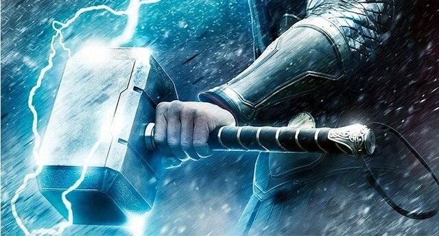 Quake children toys Thor luminous thor hammer