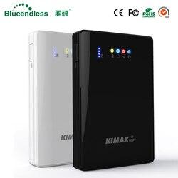 (Disco rígido incluído) portátil hdd wifi disco rígido externo 2tb hdd 2.5 sata usb3.0 roteador wi-fi sem fio 4000mah powerbank