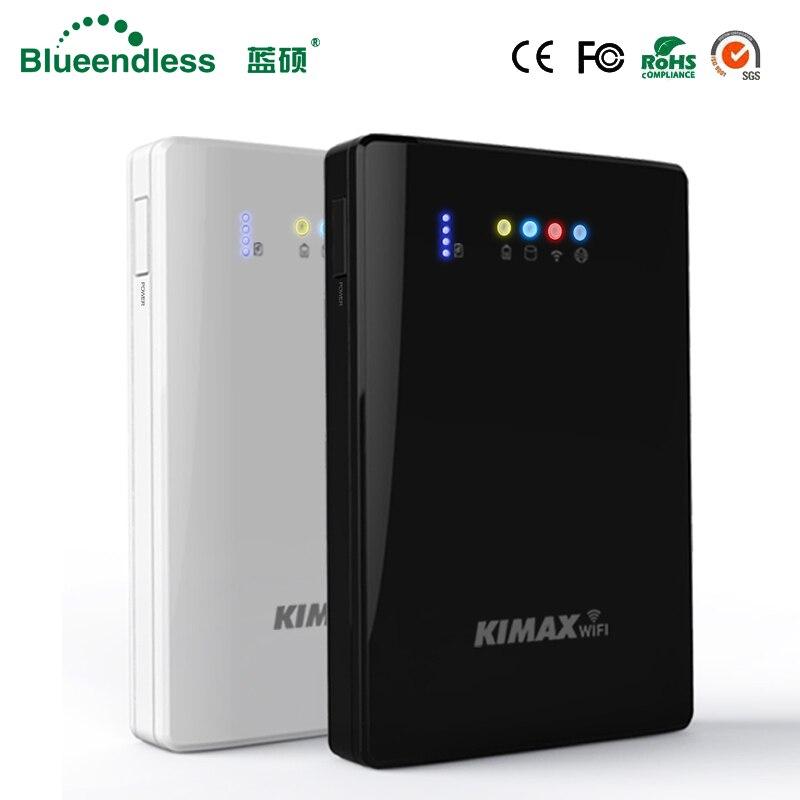 (Festplatte Festplatte Enthalten) Laptop Hdd Wifi Externe Festplatte 2 Tb HDD 2,5 Sata Usb3.0 Wireless Wifi Router 4000 Mah Power