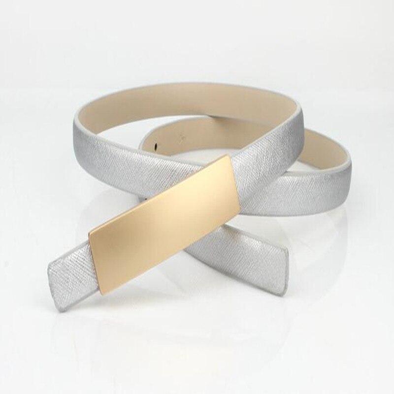 Femmes ceintures mode simple dames taille ceinture boucle en métal élastique ceinture décoration vêtements or taille chaîne jupe livraison gratuite