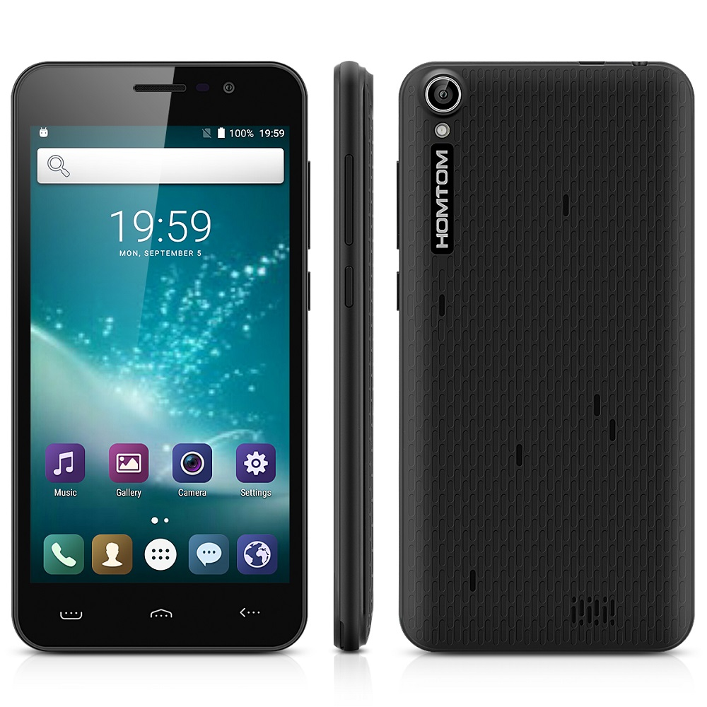 HOMTOM HT16 5,0 3g Смартфон Android 6,0 MTK6580 4 ядра 1. 3g Гц 1 ГБ Оперативная память 8 ГБ Встроенная память приложение Wakeup Gesture gps-gps Bluetooth 4,0 UK