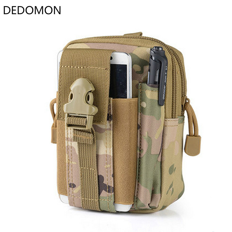 2018 Outdoor Camping Climbing Bag Tactical Military Molle Hip Waist Belt Wallet Pouch Purse Phone Case стоимость