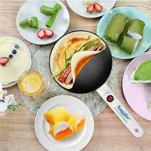 цена на Electric Crepe Maker Pizza Pancake Machine Non-Stick Griddle Baking Pan Cake Machine Kitchen Cooking Tools