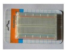 Free shipping Quality mini bread board / breadboard 8.5CM x 5.5CM 400 holes