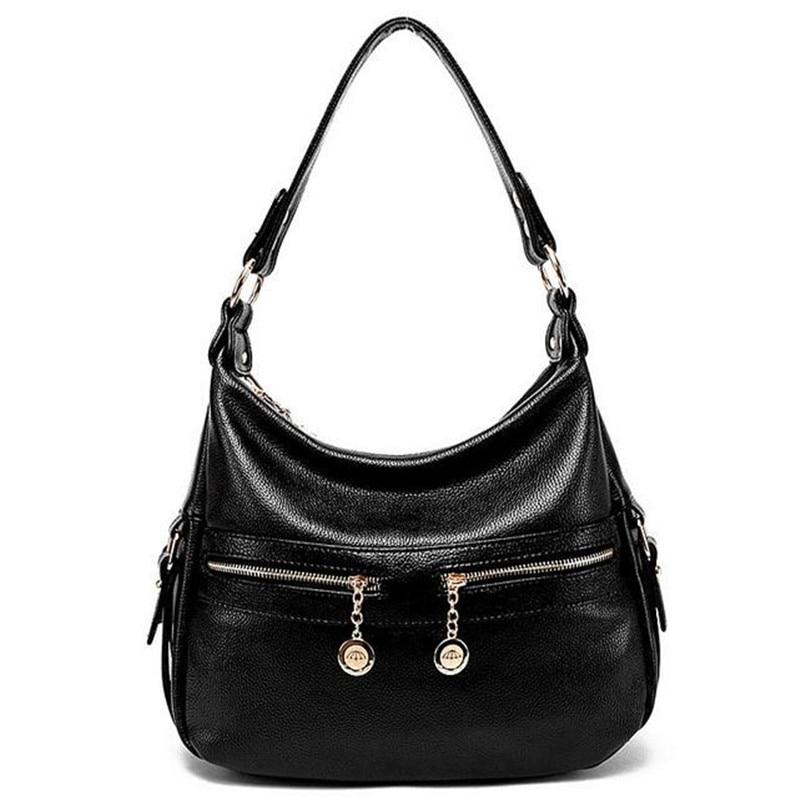New Women Messenger Bags PU Leather Handbag Ladies Crossbody Bags Female Elegant Shoulder Bag bolsa sac