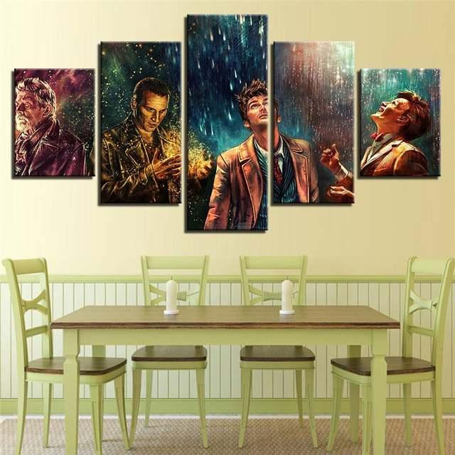Online Shop Modern Canvas Pictures Hd Printed Wall Art Framework 5 ...