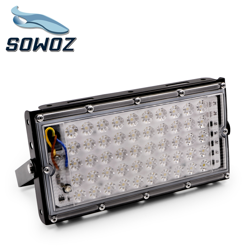 SOWOZ 50W perfect power LED Flood Light Floodlight LED street Lamp 220V 240V waterproof Landscape Lighting IP65 led spotlight