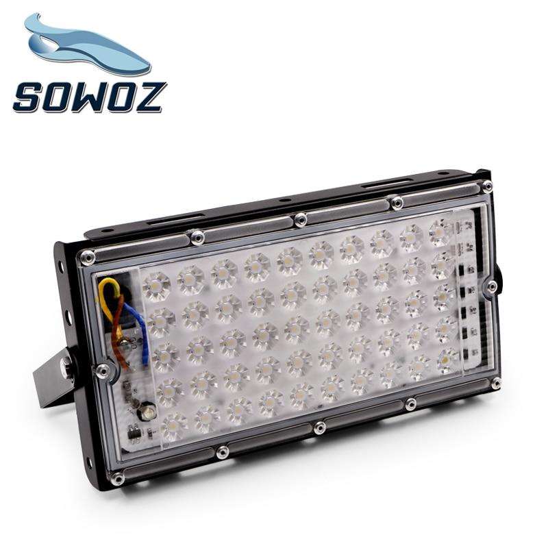 SOWOZ 50W perfect power LED Flood Light Floodlight LED street Lamp 220V 240V waterproof Landscape Lighting IP65 led spotlight