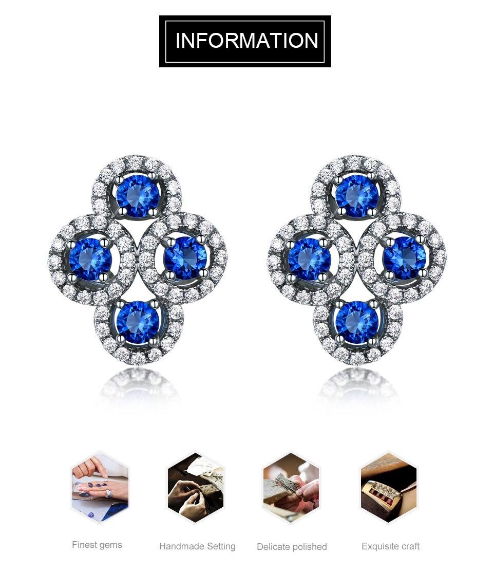 sapphire stud earrings for women fin jewelry (1)